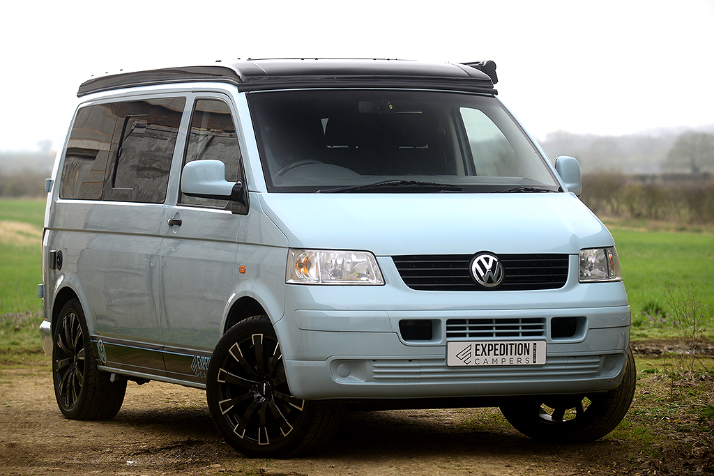 vw t5 expo trek camper swb expedition campers. Black Bedroom Furniture Sets. Home Design Ideas