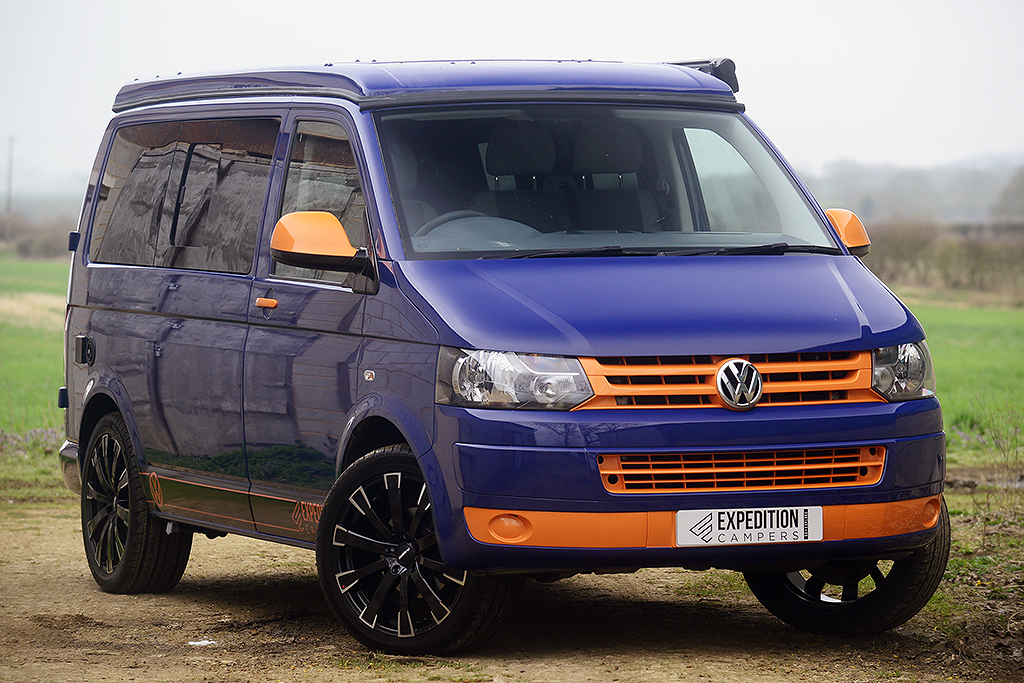 vw t5 expedition retro camper swb 140 air con now sold. Black Bedroom Furniture Sets. Home Design Ideas