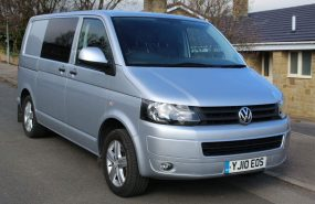 VW T5 KOMBI DSG 180 BHP 4-MOTION 4 WHEEL DRIVE AUTOMATIC ***AIR CON***NO VAT*** NOW SOLD